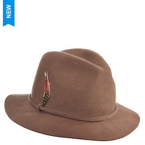 Scala Collezione Men's Felt Safari Self Band Hat