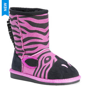 MUK LUKS Ziggy Pink Zebra (Girls' Toddler)
