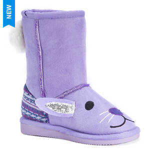 MUK LUKS Lily Purple Bunny (Girls' Toddler)