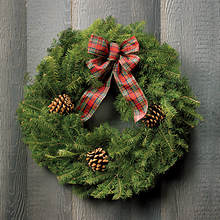 Fresh & Festive Christmas Wreath