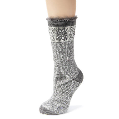 MUK LUKS Heat Retainer Thermal Socks