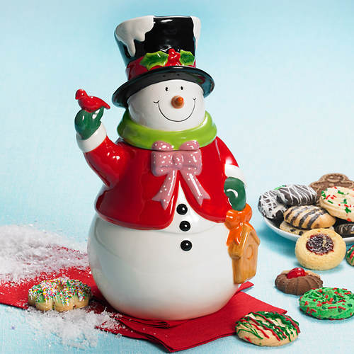 Jolly Snowman Cookie Jar | Figi's