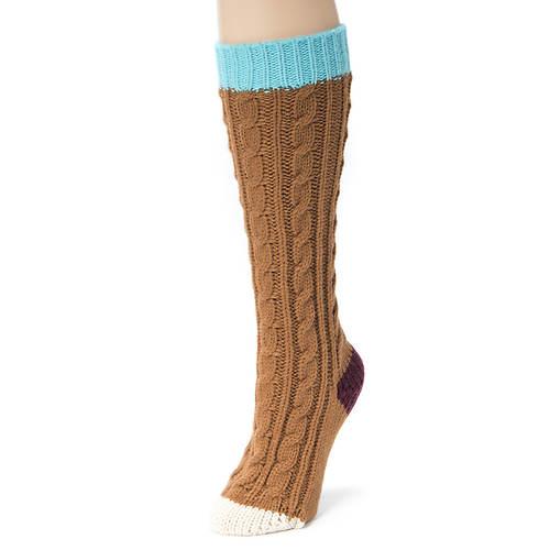 MUK LUKS Women's Knee High Socks