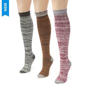 3-Pack Microfiber Boot Socks