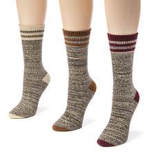 3-Pack Striped Marl Boot Socks