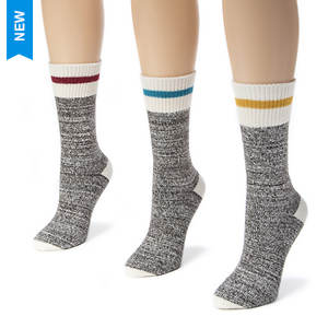 3-Pack Striped Marl Boot Socks