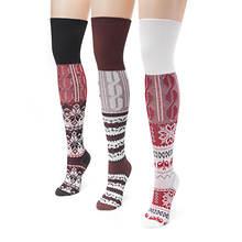 3-Pack Lodge Over the Knee Socks
