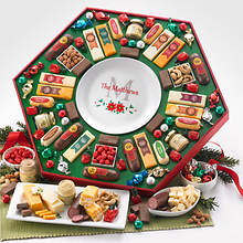 Personalized Festive Family Gift- Holiday Plate