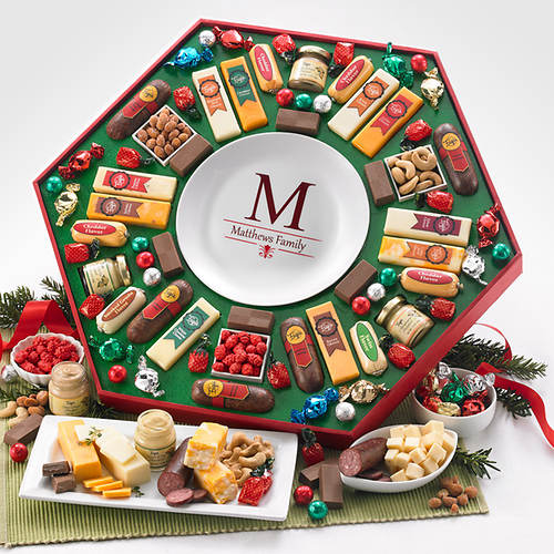 Personalized Festive Family Gift- Year Round Plate - Flavor Out of ...