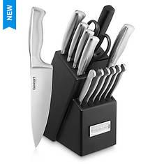 Cuisinart 15-Piece Stainless Steel Cutlery Block Set