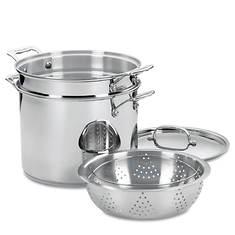Cuisinart Stainless Steel 12 Qt. 4-pc Pasta/Steamer