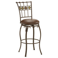 Hillsdale Lakeview Swivel Bar Stool