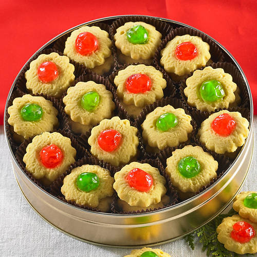 Sweet Cherry Christmas Cookies