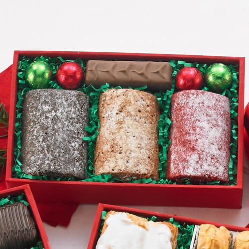 5 Bakery Shop Sweets Box - Cake Rolls & Chocolate