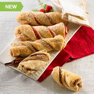 Cinnamon & Raspberry Pastry Twists