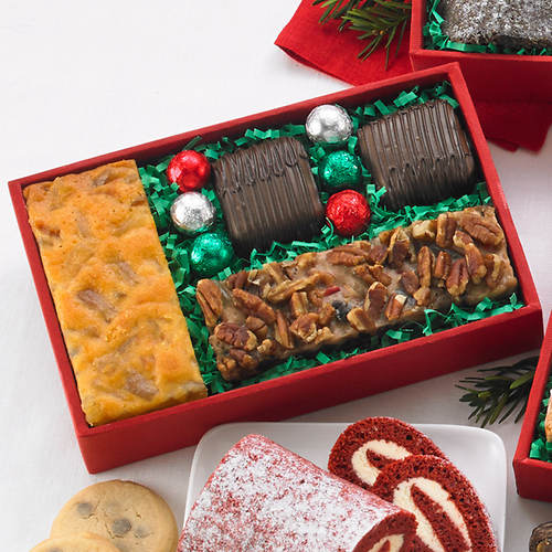 5 Bakery Shop Sweets Box - Fruitcake Favorites