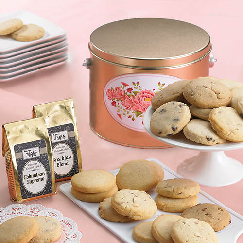 Shortbread Cookies & Coffee