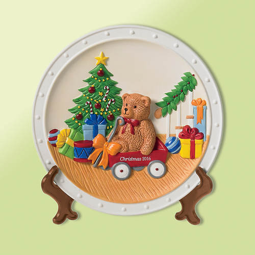 2016 Limited Edition Little Red Wagon Plate