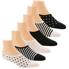 New Balance Women's N200-6 Ultra Low No Show 6PK Socks