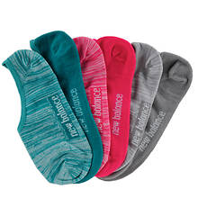 New Balance Women's N200-6 Ultra Low No Show 6PK Socks
