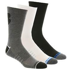 New Balance Men's N675-3 Crew 3 Pack Socks