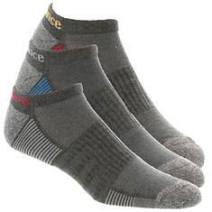 New Balance Men's N611-3  No Show 3 Pack Socks