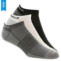 New Balance Men's N611-3  No Show 3 Pack Socks