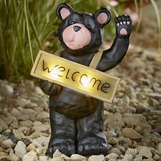 Solar Welcome Bear