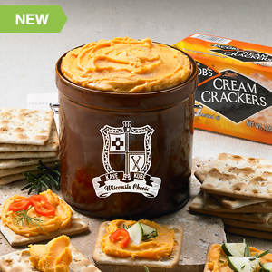 Kave Kure® Cheese Crock & Crackers