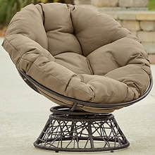 Papasan Chair With Cushion