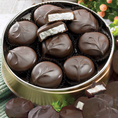 Sugar Free Dark Chocolate Peppermint Patties
