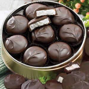 Sugar Free Dark Chocolate Peppermint Patties