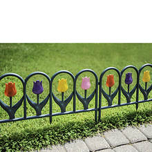 Tulip Border Fence Set - 4 Pack