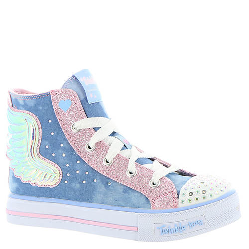 Skechers Twinkle Toes Shuffles 10758L (Girls' Toddler-Youth)