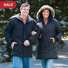 Winter Coat-Ladie's-Black