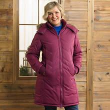 Winter Coat-Ladie's- Berry