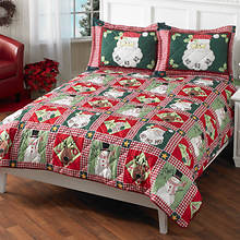Joy to the World Quilt Set