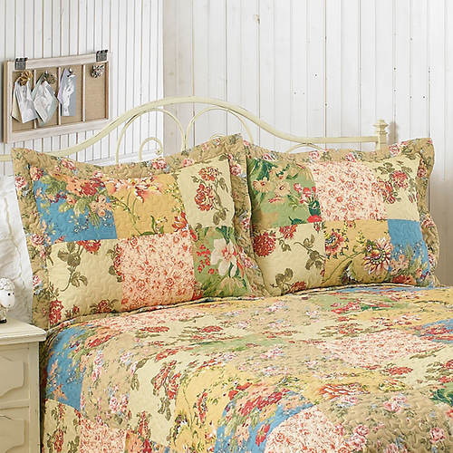 Reversible Cottage Quilt Sham