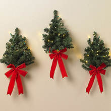 Wall Christmas Tree Set
