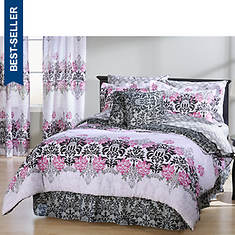 Fleur De Lis 8-Piece Bed-in-a-Bag Set
