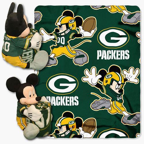 NFL Mickey Hugger Throw Set