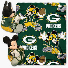 NFL Mickey Hugger Throw Set-Packers