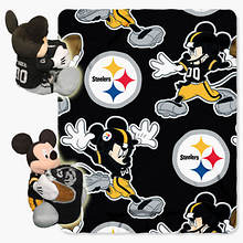 NFL Mickey Hugger Throw Set-Steelers