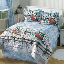 Snowplay Comforter Set