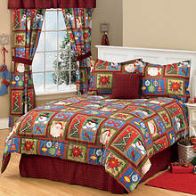 Vintage Holiday Comforter Set