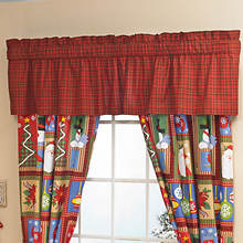 Vintage Holiday Valance
