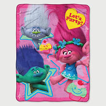 Fleece Throw-Trolls