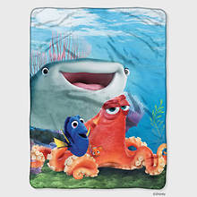 Fleece Throw-Dory