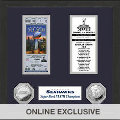 Super Bowl Ticket Collection-Seahawks
