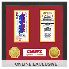 Super Bowl Ticket Collection-Chiefs